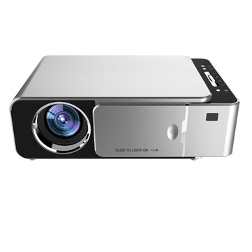 T6 LCD 720P HD 3500 Lumens Mini LED Projector Home Theater bluetooth WIFI USB HDMI VGA
