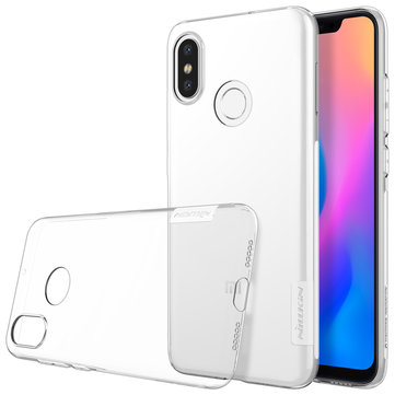 NILLKIN Clear Nature Transparent Soft TPU Protective Case For Xiaomi Mi8 Mi 8 6.21''