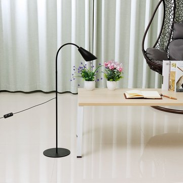 Adjustable LED Floor Lamp Light Reading Home Office Dimmable Desk Table