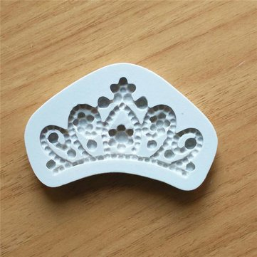 Silicone DIY Crown Cake Mould Chocolate Soap Fondant Cake Mould Cooking Tools Cake Decoration