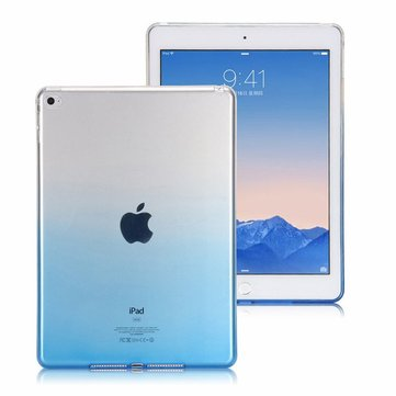 Gradient Color Transparent Soft TPU Case For iPad 2/3/4
