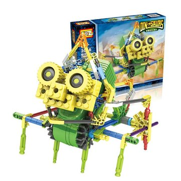 LOZ Robot Electric Toy Blocks Bricks 117PCS 24cm Adults Kids Collection Learning Education Gift