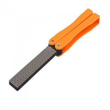 Honana HG-GT10 Double Sided Folded Pocket Sharpener Diamond Knife Sharpening Tool Gardening Outdoor
