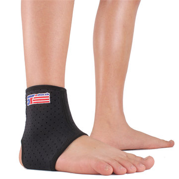 ShuoXin Sports Ankle Foot Support Elastic Wrap Breathable Brace for Basketball Football Men