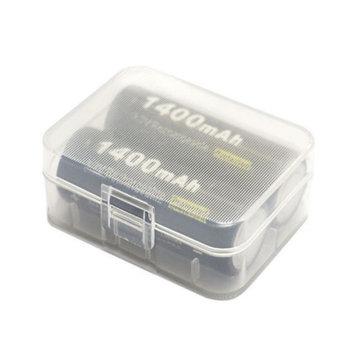 Soshine 2x 18500 Battery Transparent Hard Plastic Storage Case Cover