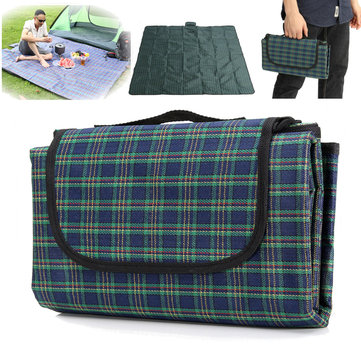 2x2m Moisture Proof Waterproof Oxford Cloth Picnic Beach Mat Blanket Camping Climb Home