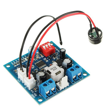 5pcs ZHIYU® DC 12V 5A PWM PC CPU Fan Speed Controller Regulator Smart Temperature Control Board With Buzzer And Temperature Probe Stop Turn Alarm Monitoring Function