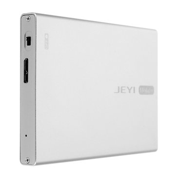 JEYI Q5 Aluminum USB 3.0 Port Mobile Hard Disk Box For 2.5Inch SATA HDD SSD Enclosures Support TRIM