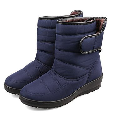 Big Size Women Winter Keep Warm Snow Waterproof Boots Magic Stick Cotton Snow Boots