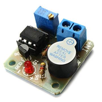 9V 12V Battery Sound and Light Alarm Protection Module Against Over-discharge Board