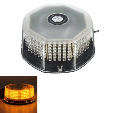 Amber LED Beacon Magnetic Flashing Warning Strobe Light