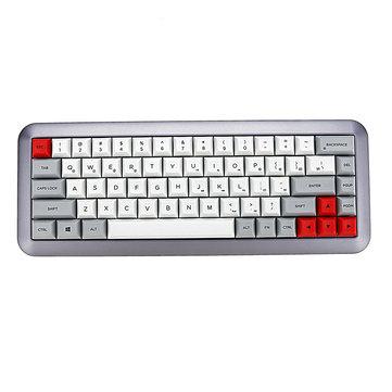 GK68 68 Key Gateron Switch Dye-sub PBT Keycaps Hot-swappable Mechanical Gaming Keyboard
