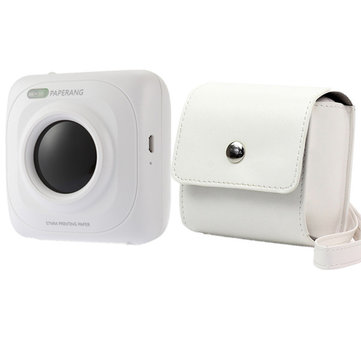 PAPERANG P1 Bluetooth 4.0 Printer Photo Printer Phone Wireless Connection Printer With PU Case Bag