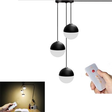 Modern 3 Wind Bell Balls LED USB Ceiling Reading Light Living Room Study Bed Decorative Night Lamp