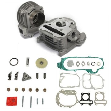 GY6 100cc 50cc 139QMB 50mm Big Bore Performance Cyinder Kit Chinese Scooter Parts