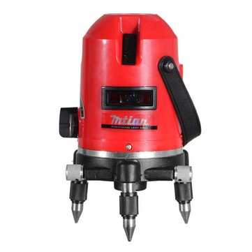 Mtian 5 Lines 6 Points Laser Level 360 Rotary Cross Laser Line Leveling with Tilt Outdoor Model