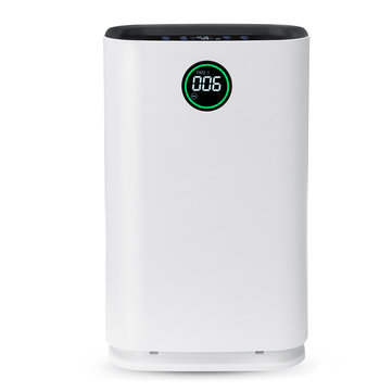 6 Layers Air Purifier True HEPA Filter Ionic Odor Dust Remover Anti Allergies Bathroom Air Cleaner