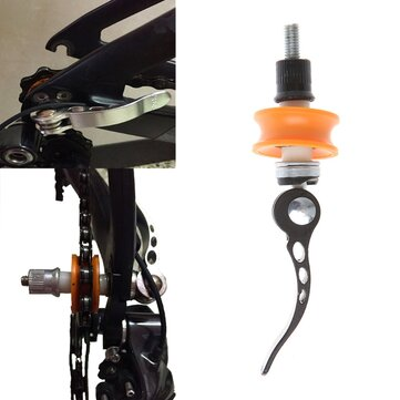 BIKIGHT Bicycle Chain Keeper Cleaning Tool Wheel Holder Quick Release Protector Bike Accessory