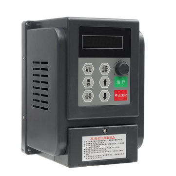 Single Phrase Inverter 220V 1.5KW VFD Speed Controller Single Phrase Frequency Converter