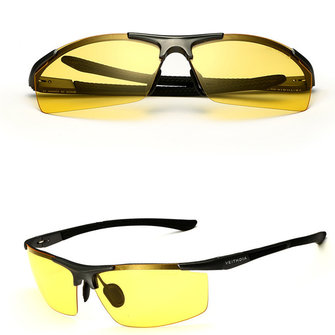 Aluminum Magnesium Alloy Sun Glassess Uv Protection Polarized Driving Outdooors Eyeglasseess