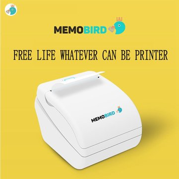MEMOBIRD Photo Thermal Printer Micro USB Wireless WiFi Connectivity with Remote Printing