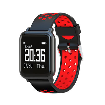 Goral SN60 IP68 5ATM 60 Days Stand-by Blood Pressure Heart Rate Monitor Sport Bluetooth Smart Band