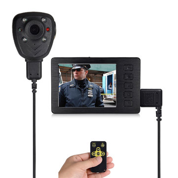 2.7 Inch Mini DVR with 1080P IR Camera Video Audio 110 Degree 16X Recorder Motion Detection