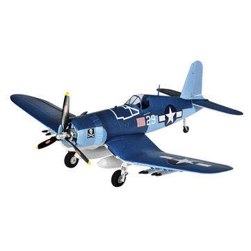 TOP RC 4 Channel Wingspan 750mm EPO F4U KIT/PNP RC Airplane Aircraft-Blue