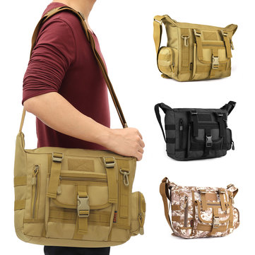 Outdoor Camping Tactical Military Briefcase Mens Messenger Shoulder Cross Body Bag