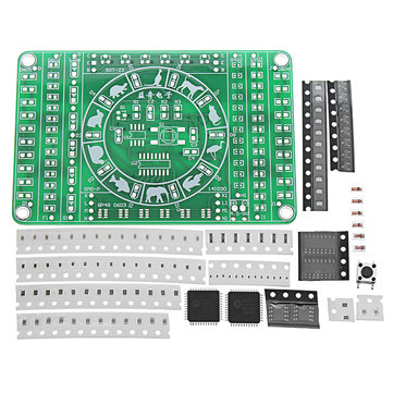 SMD Component Soldering Practice Board DIY Electronic Production Module Kit