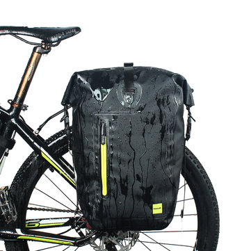 RHINOWALK 25L Waterproof Bicycle Cycling Panniers MTB Bike Rear Rack Side Seat Trunk Bag E-bike Bag