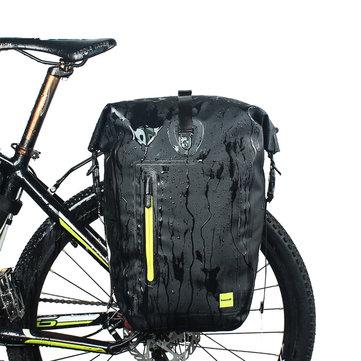 RHINOWALK 25L Waterproof Bicycle Cycling Panniers MTB Bike Rear Rack Side Seat Trunk Bag E-bike Bag