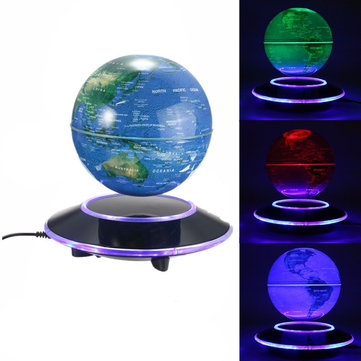 Magnetic Levitation Floating globe 6 inch Amazing Office House Decor Colorful Valentines Day Gifts