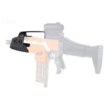 WORKER Mod Short Front Tube Kit With Handle 3D Print For Nerf Stryfe Elite Retaliator Blaster Toy