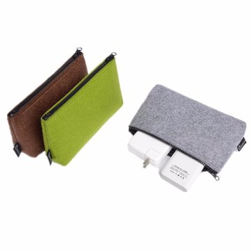 DWIRAY Universal Carrying Case Digital Storage Bag Travel Pouch Cable Power Bank Hard Disk Bag