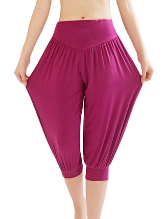 Casual Loose Yoga Sport Stretch Short Pants For Women