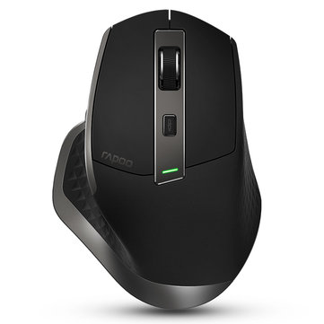 Rapoo MT750 Rechargeable Multi-mode Wireless Mouse Bluetooth 3.0/4.0 RF 2.4GHz for Four Devices Mice