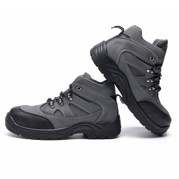 Outdoor Winter Men Work Safety Anti-smashing Labor Insurance Casual Shoes