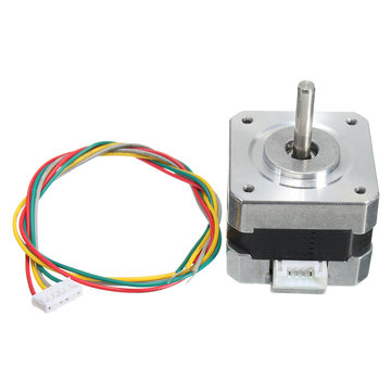 42 Stepper Motor 4 Leads 34mm 12V 0.4A 26Ncm 3D Printer Micro Motor