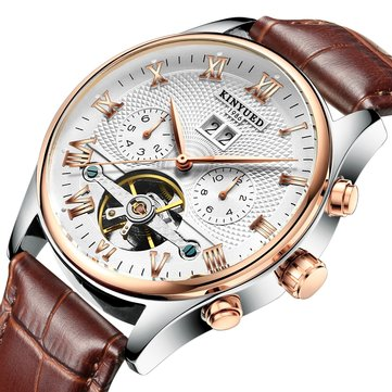 KINYUED J012 Calendar Automatic Mechanical Watch