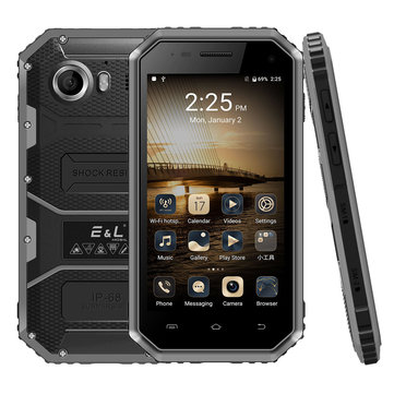 EL 3 PROOFINGS W6 IP68 4.5 Inch 4G LTE 2600mAh 5MP Android 6.0 Waterproof Dustproof Smartphone