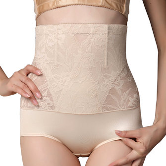 Jacquard Slim Hip Lifting Bodysuit High Waist Postpartum Shapewear