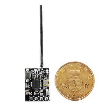 8CH Micro Compatible FPV Receiver with SBUS PPM Output Binding Button for FRSKY Transmitter RC Drone