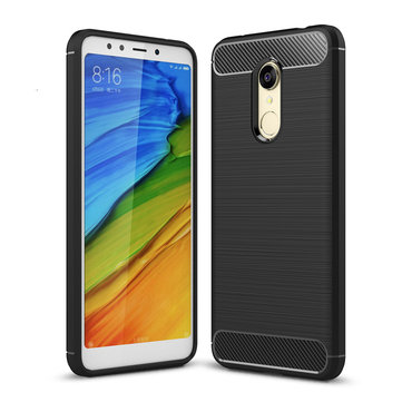 Bakeey Simple Drop-resistance Soft Silicone TPU Protective Case For Xiaomi Redmi 5 Plus
