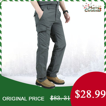 Mens Outdoor Casual Quick Dry Breathable Cargo Pants