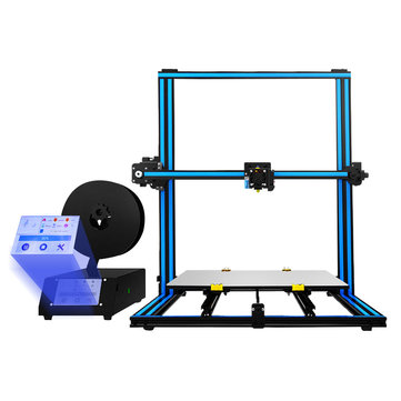 Buy TRONXY® X3SA-400 Aluminium 3D Printer 400*400*420mm Printing Size With 3.5inch Touch Screen/Auto-leveling/Rusume Printing/Filament Run Out Detection/Dual Z-axis Lead Screw for $439.99 in Banggood store