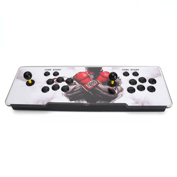 PandoraBox 6 1099 in 1 Dual Player Double Black Joystick Arcade Game Console Support Adding Game