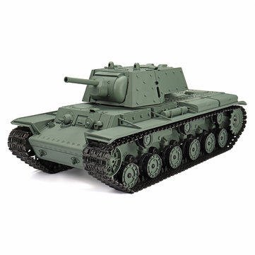 Henglong 3878-1 1/16 2.4G Radio Control Plastic Russian KV-1 RC Battle Tank With Sound Smoking