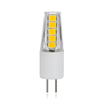 AC220V AC/DC12V G4 2W Pure White Warm White Non-dimmable Ceramics LED Light Bulb for Chandelier