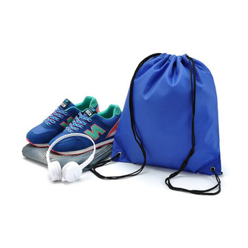 KCASA KC-SK02 Travel Drawstring Storage Bag Durable Nylon Sport Backpack Sack Bag